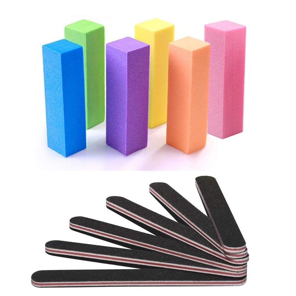 Пилочки для ногтей и буфер, TsMADDTs профессиональный маникюрный набор инструментов прямоугольные инструменты для ухода за искусством