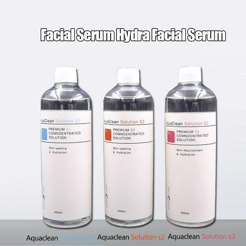 AS1 SA2 AO3 Aqua Peeling Solution 400ml Per Bottle Face Clean Hydrafacial Cleansing Blackhead Removal On Sale