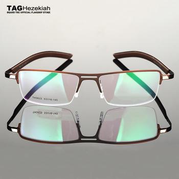 TAG marka kwadratowe okulary optyczne ramki mężczyźni 2020 krótkowzroczność komputerowe ramki okularów korekcyjnych dla mężczyzn oprawki do okularów TH3823 tanie i dobre opinie TAGHezekiah Stop CN (pochodzenie) GEOMETRIC FRAMES Okulary akcesoria
