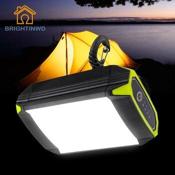 Flasher Mobile Power Bank Flashlight USB Port Camping Tent Light Outdoor Portable Hanging Lamp 30 LEDS Lantern Camping Light 1