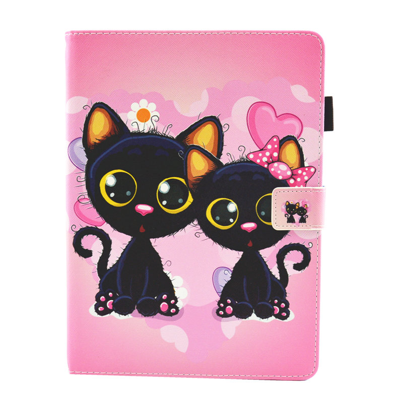 13 Silver Cute Unicorn Cat Case For iPad 10 2 Case 2019 Tablet Cover For iPad 10 2