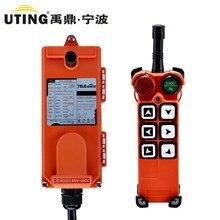 F21 E1 (1 Zender + 1 Ontvanger) Industriële Draadloze Radio 1 Speed 6 Knoppen Afstandsbediening Voor Hoist Crane