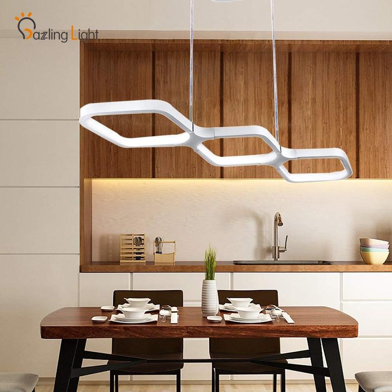 Mordern Led Pendant Lights Lamp Dining Room Lighting Ceiling Light Chandelier Kitchen Pendant Lights Led Kitchen Fixture Pendant Lights Aliexpress