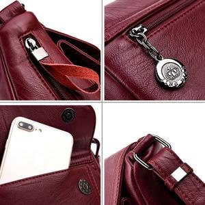 Image 5 - Sacs à Main de luxe en cuir pour femmes, sacoches à épaule de bonne qualité, sacs de styliste, offre spéciale 2019