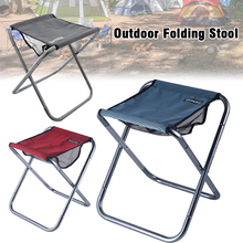 Aluminum Alloy Outdoor Camping Folding Chairs Portable Travel Fishing Hiking Barbecue Desk