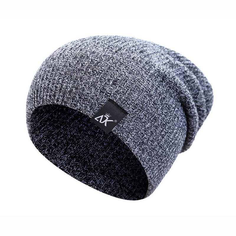 Neue Winter frauen Hut Gestreifte Gestrickte Kappen Streetwear Candy Outdoor Hip-Hop wolle herbst Mann Winter Wolle Kappe