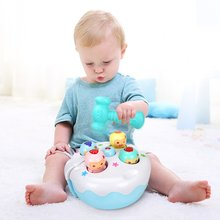 Game-Machine Educational-Toy Electric Hamster Baby-Toy Cake-Knocking Sound-Light Music-Game