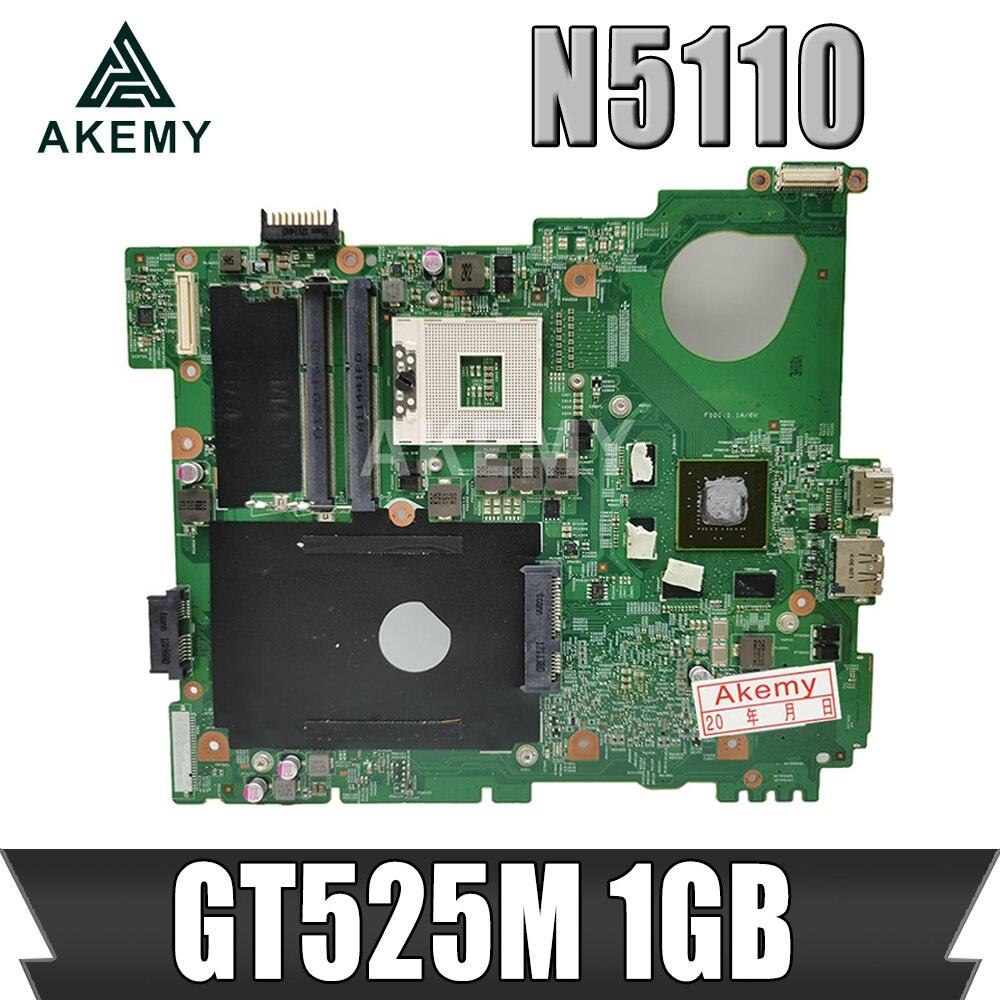 Akemy N5110 материнская плата для ноутбука DELL inspiron 15R N5510 материнская плата CN-0J2WW8 0J2WW8 HM67 DDR3 GT525M 1 Гб