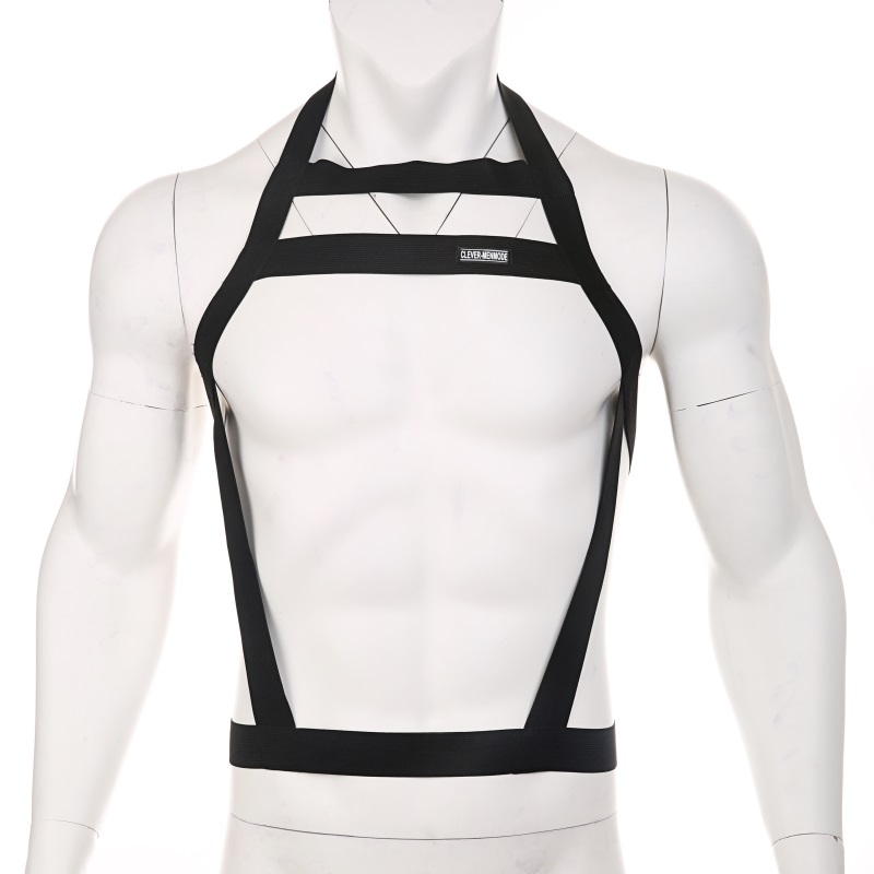 Chest Bondage Lingerie Sexy Body Harness Men Elastic Belt Straps Halter Neck Costume Wear Hombre Erotic Performance Clothing