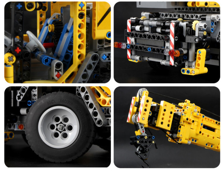 MOULD KING 13107 Compatible 42009 Technic SCrane Mk II Building Block (2590PCS) 11
