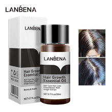 LANBENA Fast Powerful Hair Growth Essential Oil Liquid Treatment Essence Preventing Hair Loss Hair Care Products Andrea 20ml