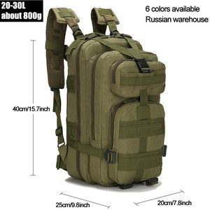 Image 2 - 25 30L Tactical Backpack Mens Hiking Trekking Traveling Backpack Army Military Backpack Outdoor Sport Climbing Bags