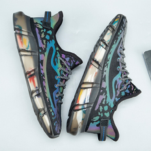 Men Shoes Breathable Sneakers Tenis Men's Fashion New Jelly-Sole Outdoor Colored High-Quality