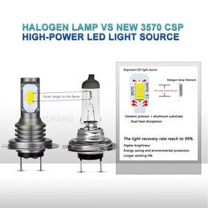 Image 3 - 2x H7 H8 H11 9005 HB3 9006 HB4 H16 H1 H3 881 880 3570 Chip Canbus External Led Bulb Car Led Fog Driving Lights Lamp Light Source