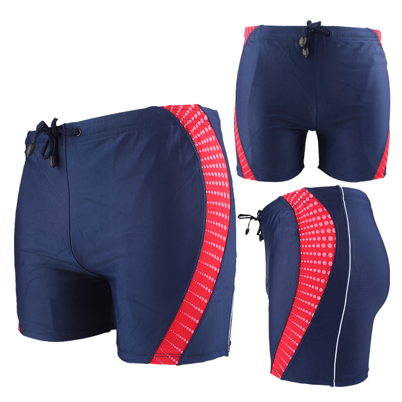 Swimming Trunks Men's Anti-Awkward Quick-Dry Large Size Boxer Loose-Fit Adult Fashion Bubble Hot Spring Shorts