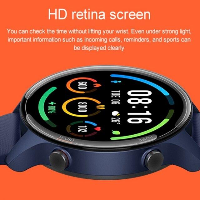 Xiaomi mi relógio gps mi relógio inteligente versão global smartwatch 2021 bluetooth smartwatch de fitness freqüência cardíaca monitor sono mi relógio 5