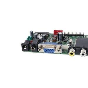 Image 5 - DVB S2 DVB S2 DVB T2 DVB C Digitale Signaal Atv Maple Driver Lcd Afstandsbediening Board Launcher Universele Dual Usb Media QT526C T.