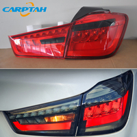 Car Styling Taillight Tail Lights For Mitsubishi ASX RAR 2011 2018 Rear Lamp DRL + Turn Signal + Reverse + Brake LED Light
