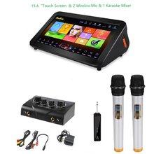 GymSong Ktv lecteur Machine haut-parleur chine Android avec 2TB disque dur comprennent 40k chansons maison Jukebox écran tactile système de karaoké