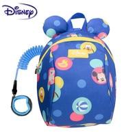 Disney Kids Anti Lost Backpack Cartoon Antilost Link Children Schoolbag Walking Strap Leashes