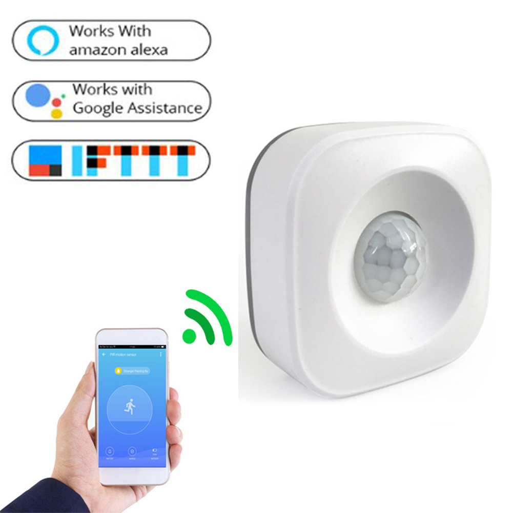 APP Detector Modern 2.4GHz F0A7N Wireless WiFi Home Alarm Burglar Compatible IFTTT Stable PIR Motion Sensor Infrared Intelligent