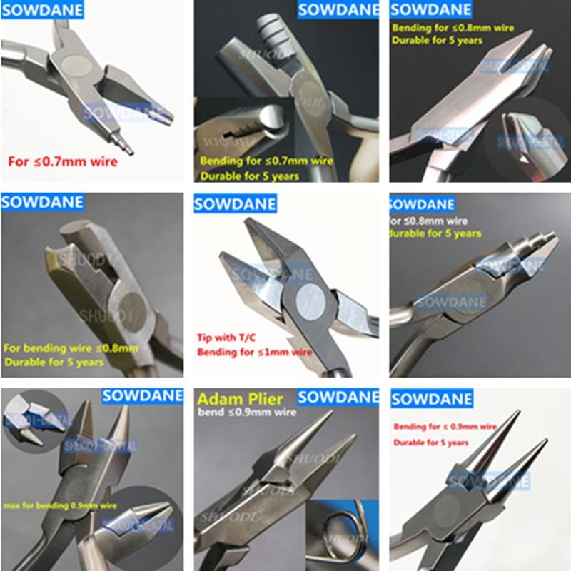 Dental Orthodontic Tool Lab Laboratory Loop Forming Wire Bending Plier Loop Form Bend Forcep Instrument Dentist Implant Tool