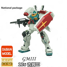 Daban Model 1/144 HGUC 126 RGM-86R GM-III G Gundam brinquedo Mobile Suit Assembly Model Kits Anime action figure gm pb026 g