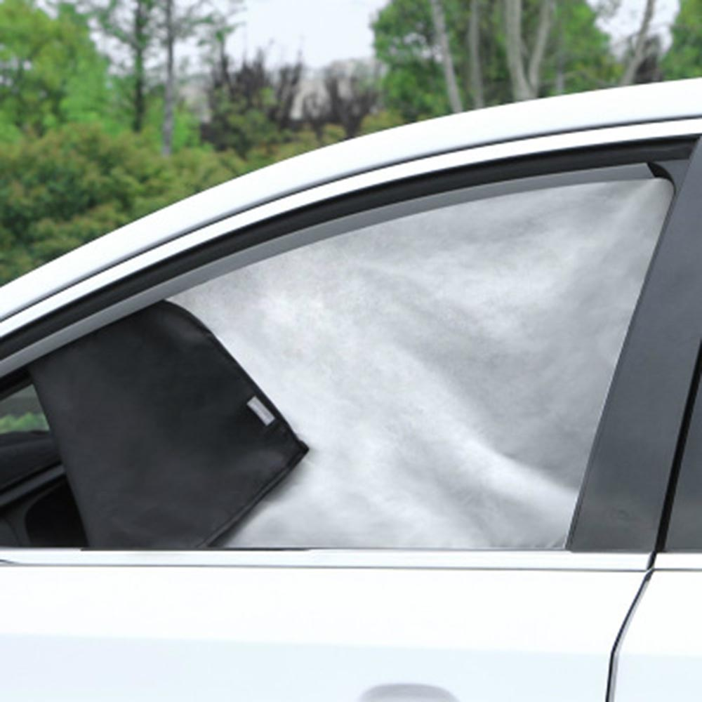 Side Window Car Sun Shade Strong Magnetic Visor Curtain 75*50CM Universal