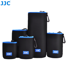 JJC רך עדשת פאוץ Neoprene מצלמה עמיד למים תיק SLR DSLR מקרה עבור Canon ניקון אולימפוס Fujifilm Sony Pentax פנסוניק לייקה