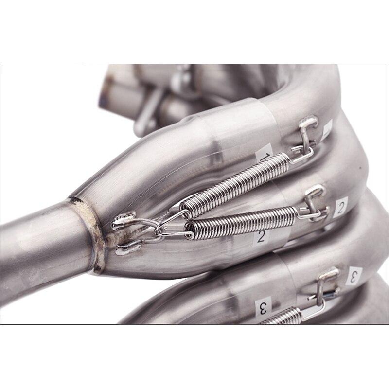 Купить 508 мм мотоциклетные трубы из нержавеющей стали для honda cb650f