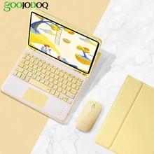 Para iPad 7th 8th generación caso con teclado para iPad 10,2 caso Pro 11 3 4 10,9 Pro 10,5 2 9,7 con lápiz titular