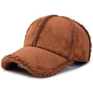 Image 4 - Personalità selvaggia di protezione per le orecchie berretto da baseball ispessimento autunno e l inverno allaperto di viaggio cappello caldo di modo romantico berretto da sci