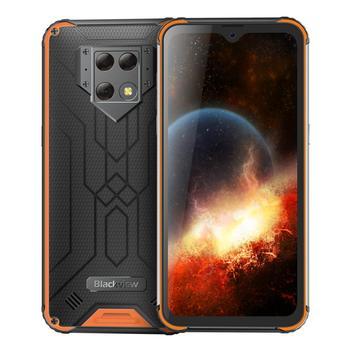 Перейти на Алиэкспресс и купить Водонепроницаемый мобильный телефон Blackview BV9800, Android 9,0, смартфон Helio P70, 6 ГБ + 128 Гб, задняя камера 48 МП, 6580 мАч, 6,3 дюйма FHD