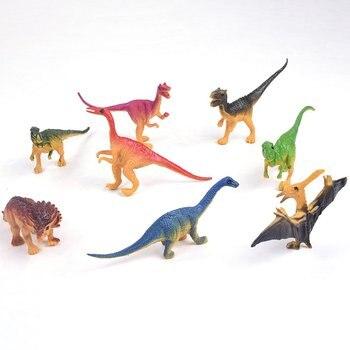 Dinosaur World Tyrannosaurus Therizinosaurus Spinosaurus Action Figures Jurassic Dinosaurs Model Action Figure Model Toys
