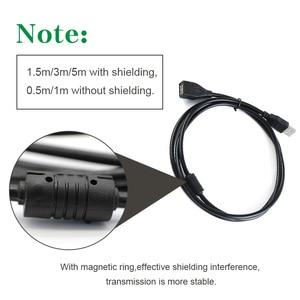 Image 2 - USB 2,0 кабель удлинитель кабеля, кабель передачи данных типа «Папа мама», сверхскоростной Удлинительный кабель для передачи данных 0,5 м, 1 м, 1,5 м, 3 м, 5 м