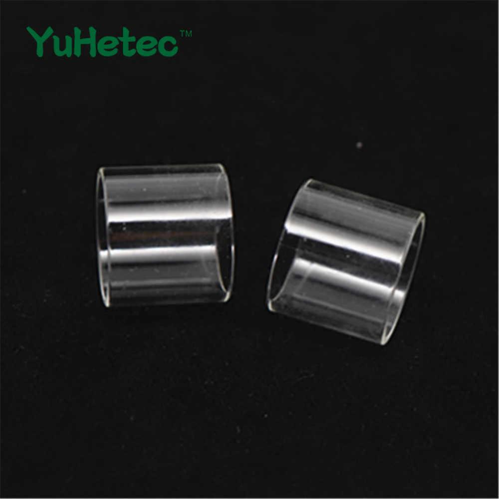 2 шт. стеклянная трубка YUHETEC для Joyetech CuBox Cubis 2 ProCore Air 22 25 Plus eVic VTC двойная украшенная емкость eGo AIO Joye ECO D16