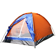 Outdoor 2 Persons Camping Tent 200*120*110cm PU1000mm Polyester Single Layer Portable big space fishing Hiking