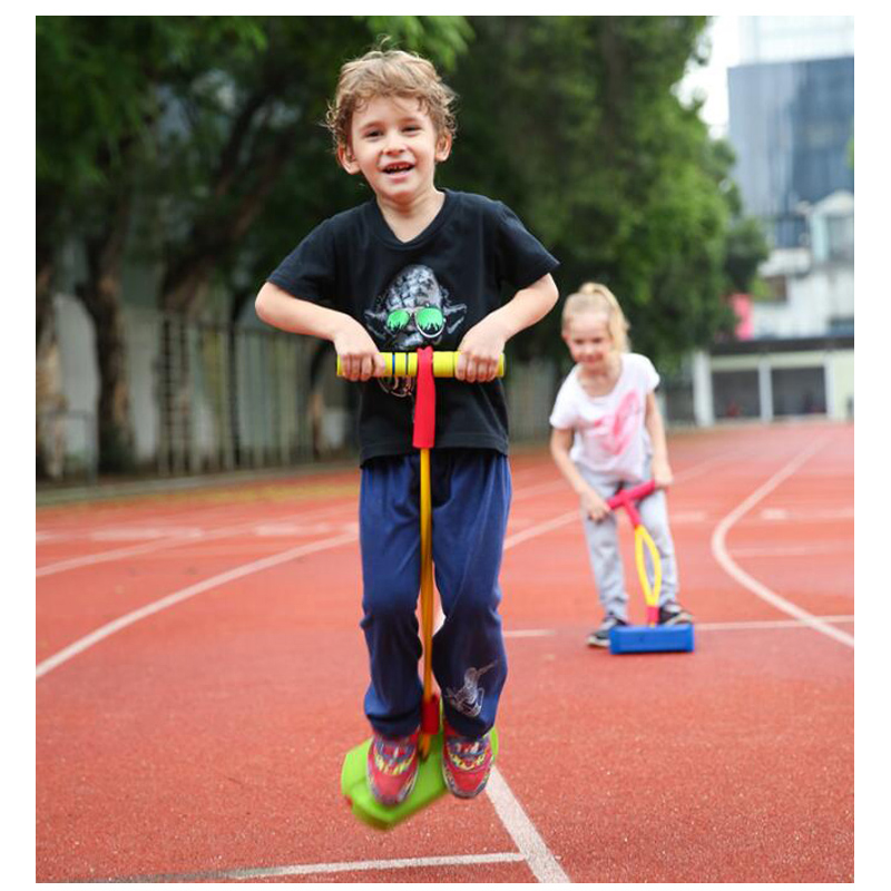 Foam Pogo Stick Jumper For Kids Indoor Outdoor Fun Sports Fitness Toddler Boys Girls Children Games Sensory Toys Giochi Bambini