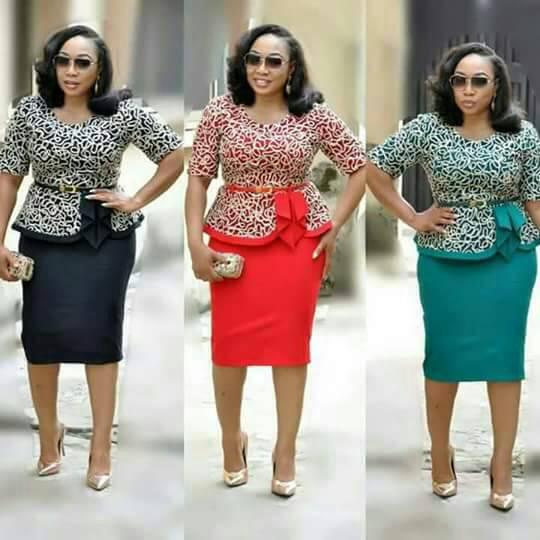 2019 New Arrival Autumn Elegent Fashion Style African Women Plus Size Dress L-3XL