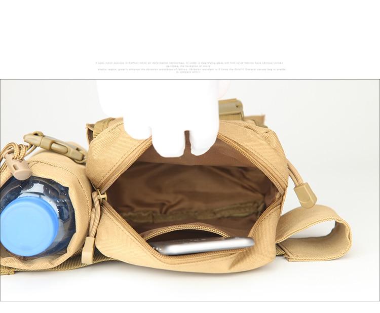 Новая мужская поясная сумка тактическая военная Водонепроницаемая