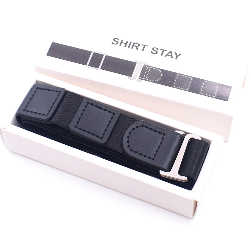 Newly Shirt Holder Adjustable Near Shirt Stay Best Tuck It Belt For Women Men Work Interview FIF66