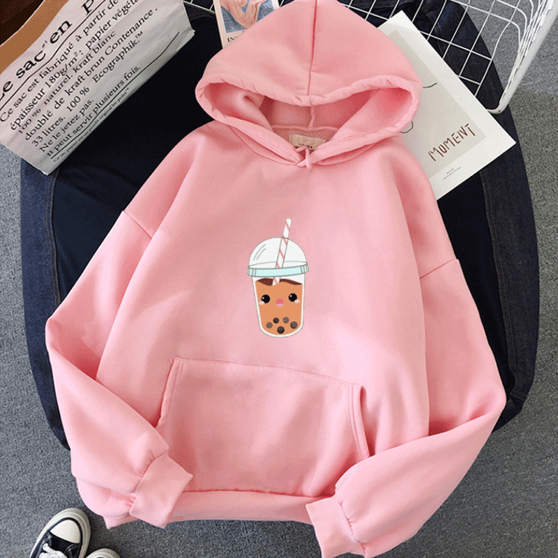 Women's Hoodies Full Sleeve Hoodie Print Sweatshirt Hoodies Women Hoody Female Itself Mujer