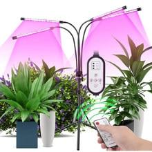 Phyto lâmpada temporizador espectro completo usb crescer luz lâmpada para plantas completo spactrum luzes para plantas jardim flores ervas crescer caixa