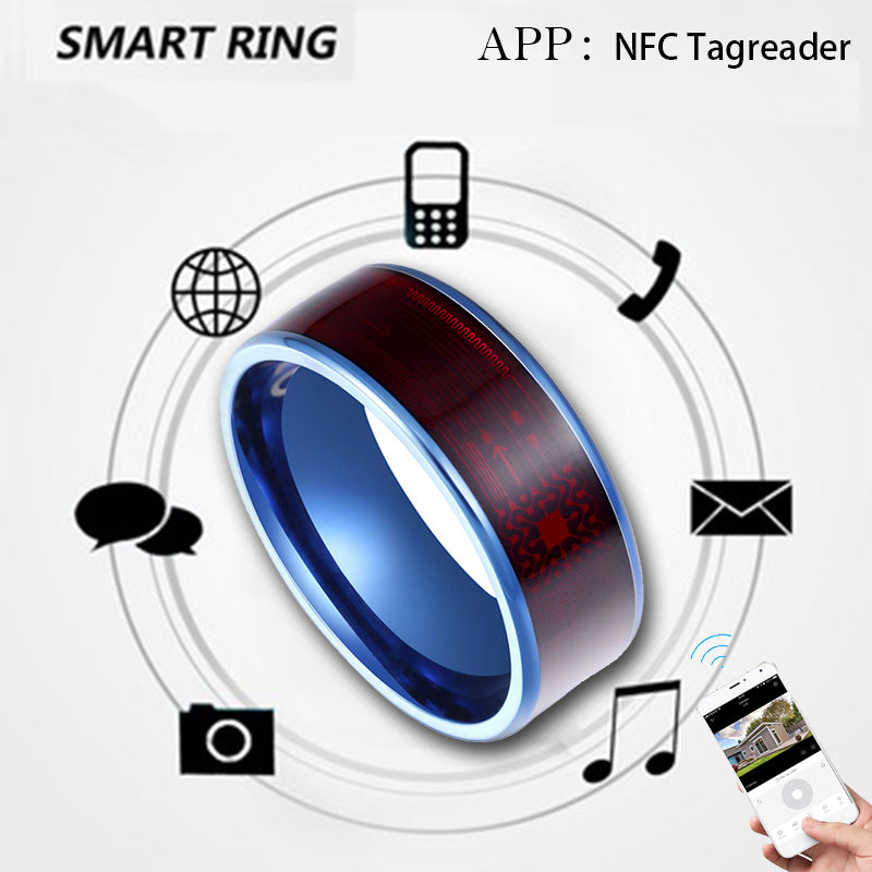 3 Types Waterproof Unlok Smart Ring Wear New Technology Magic Finger NFC Ring For Android Windows NFC Mobile Phone