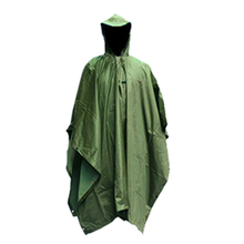 Multifunction Military Waterproof Camo Raincoat Rain Coat Men Women Raining Poncho for Camping Fishing Motorcycle F-Best
