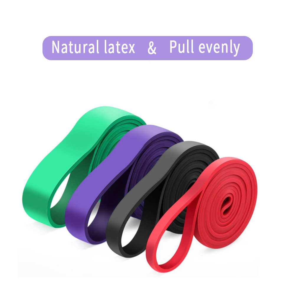Latex Fitness Resistance Band Elastic Fitness Band Fitness Resistance Band Exercise Resistance Band Latex Tape Tension Band