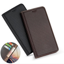Genuine Leather Wallet Phone Case Card Holder For Motorola Moto One Action/Moto One Vision/Moto One Hyper Phone Bag Holder Case(China)