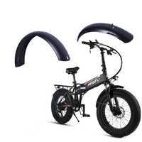 20 pouces motoneige vélo garde-boue fer matériel électrique vélo garde-boue vélo ailes fortes durables couverture complète cyclisme pièces