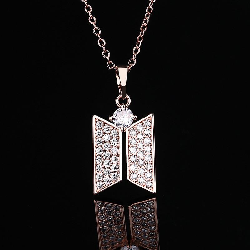 BTS Jewelry Logo Necklace 7