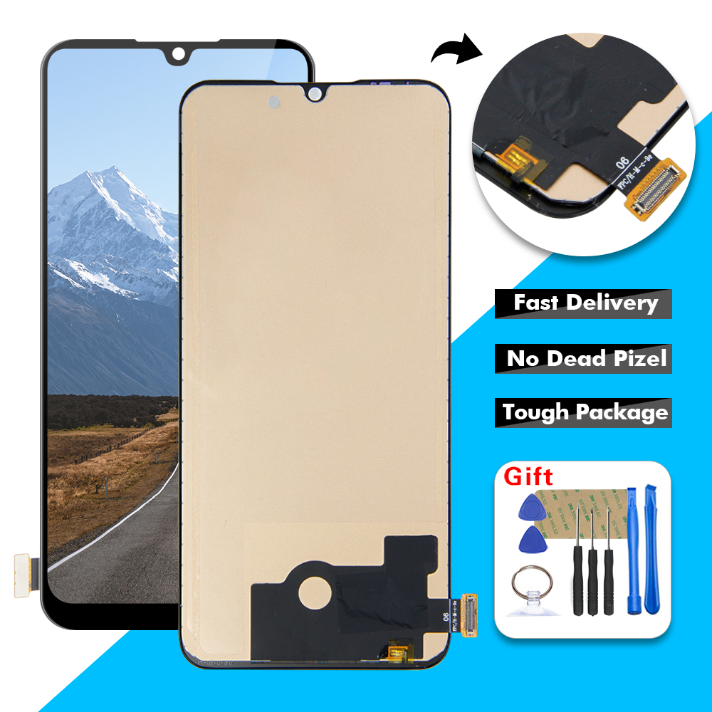 AAA LCD For Xiaomi CC9E Mi CC9E MiCC9E LCD Display Touch Screen Digitizer Assembly + Frame For Xiaomi Mi A3 MiA3 LCD Display(China)